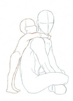 New Drawing Anime Poses Male 48 Ideas – Drawing Techniques Pencil Sketch Drawing, Drawing Base, Drawing Drawing, Male Drawing, Charcoal Drawing, Hugging Drawing, Pencil Art, Kissing Drawing, Ship Drawing