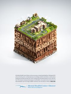 Mental Health Center of Denver - Communities by Peter Jaworowski, via Behance