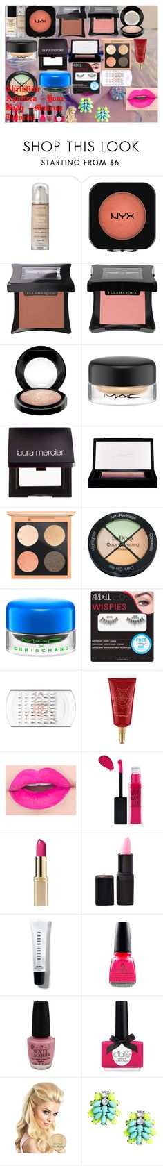 """Christina Aguilera - Your Body - Makeup Tutorial"" by oroartye-1 on Polyvore featuring beauty, Lumière, Neutrogena, Illamasqua, MAC Cosmetics, Laura Mercier, Isadora, Ardell, Maybelline and L'Oréal Paris"