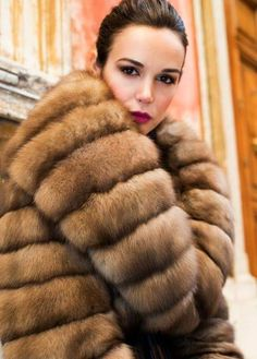 golden sable fur
