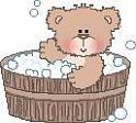Country Bear Bath Time