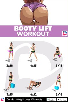 🍒Glutes🍒 Training for beginners Training plan Training video Training weightlifting Training women Training workout Fitness Workouts, Gym Workout Tips, Fitness Workout For Women, Workout Challenge, Workout Videos, At Home Workouts, Stomach Workouts, Bruce Lee Abs, Band Workout