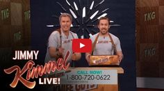 The Knife Guys (Will Ferrell and Ryan Gosling) Return to 'Jimmy Kimmel Live' (Video)