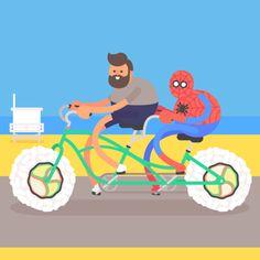 James Curran — LA Gifathon Day 20  Cycling and sushi in Santa...