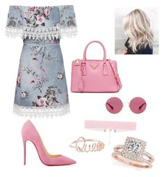 """""""Casual"""" by lizzythedizzy on Polyvore featuring WearAll, Christian Louboutin, Allurez and Ray-Ban"""