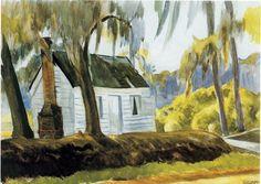 Edward Hopper - Cabin - Charleston, South Carolina, 1927