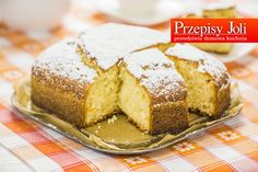 SZYBKIE CIASTO JOGURTOWE (ZA PIĘĆ DWUNASTA) Wedding Desserts, Cornbread, Nutella, Sweet Recipes, Banana Bread, Sweet Tooth, Sweets, Cookies, Baking
