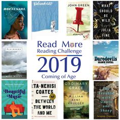 Read More Reading Challenge: A Coming of Age Book S Williams, Personal Investigation, Reading Challenge, John Green, Coming Of Age, Adolescence, Betrayal, Looking Back, Read More