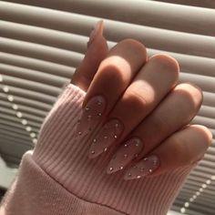 nails one color winter ~ nails one color ; nails one color simple ; nails one color acrylic ; nails one color summer ; nails one color winter ; nails one color short ; nails one color gel ; nails one color matte Colorful Nail Designs, Acrylic Nail Designs, Colourful Nails, Diamond Nail Designs, Diamond Nails, Acrylic Colors, Winter Nails 2019, Summer Nails, Nagellack Trends
