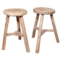 Wooden Chinese Stool