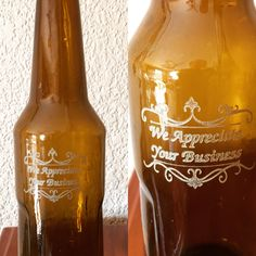 Remember to appreciate your customers. We engrave on bottles and glasses at reasonable cost. Do not delay. We have passed the halfway mark for 2017 - time is flying. Contact me