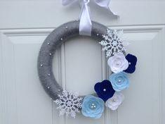 Hey, I found this really awesome Etsy listing at http://www.etsy.com/listing/166795965/christmas-yarn-wreath-hanukkah-wreath