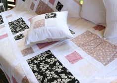 Quilt Pattern, Blanket, Bed, Home, Linen Fabric, Creative, Patterns, Colors, Stream Bed