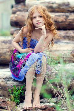 Valentina Lyapina, a Russian child model and actress