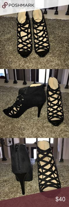 Nine West heels Black Nine West Nine West Shoes Heels