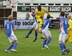 Leon Smith scores against Wealdstone