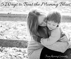5 Ways to Beat the Mommy Blues for those times when we are tired and are stuck in a holding pattern and need inspiration to get out of the mommy blues by Mommy University at www.MommyUniversityNJ.com