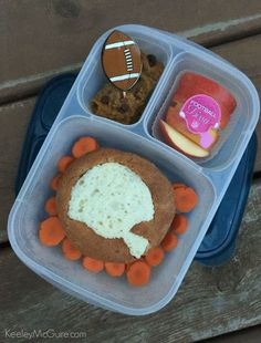 Lunch Made Easy: Fun Football Ideas with #EasyLunchboxes