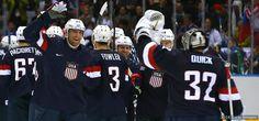 Team USA Beats Russia In 'Marathon On Ice'