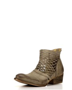 Be admired by your choice of fashionable footwear when wearing these women's Cali booties! Crafted from leather, these booties stand out with cut-out details on the uppers and manmade soles making for confident strides. A back zipper on each shoe allows for easy and secure dressing.