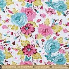 Wanda Fabric Multicoloured 120 cm