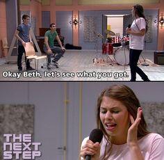 OoOoOoOhhhhhhh...ye-he-hea! Get Beth off the stage!