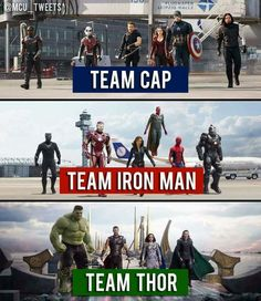 - For me it's team Cap. - Visit to gra. – For me it's team Cap. – Visit to grab an amazing super… What team are you on? – For me it's team Cap. – Visit to grab an amazing super hero shirt now on sal - Marvel Dc Comics, Marvel Avengers, Heros Comics, Funny Marvel Memes, Marvel Jokes, Marvel Films, Dc Memes, Marvel Characters, Marvel Heroes