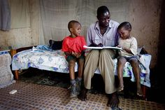 Memory Books Uganda Simon can ensure that his grandchildren inherit his land by HelpAge, via Flickr @Pam Lohman