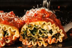 Lasagna roll-ups that are fun to make, easy to pack for lunch, and delicious to boot.