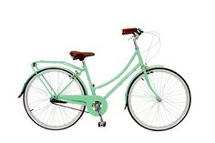 Mint, Green, Aqua, Bobbin Birdie Bicycle ... Summer, Bike, Wheels, Go!