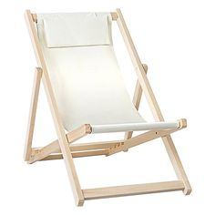 Haym Foldable Outdoor Chair, Beige by Resort Living | Zanui