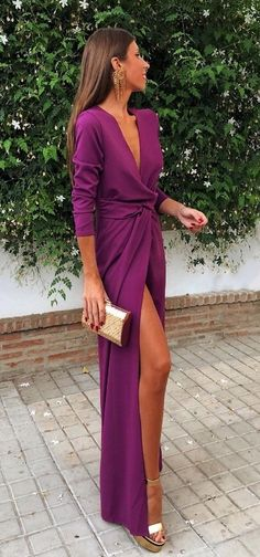 Gala Dresses, Evening Dresses, Formal Dresses, Chic Outfits, Dress Outfits, Fashion Outfits, Pretty Dresses, Beautiful Dresses, Summer Wedding Outfits