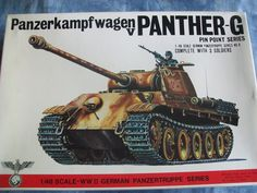 1970's Bandai 1/48 Scale Panzerkampfwagen V Panther-G Model by MyHillbillyWays on Etsy