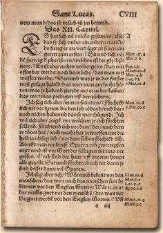 1529 Luther German New Testament Leaf: The Oldest German Luther New Testament Scripture for Sale Anywhere - Available at:  GREATSITE.COM