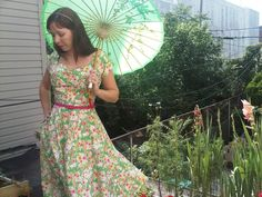 Party Petals Vintage Style Dress Sweetheart by SapphireSiren, $58.00