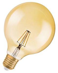 OSRAM Vintage 1906 Globe LED lamp - E27 - 4W - 410lm - gold - 2400K warm wit