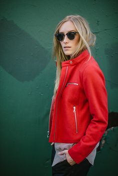 great red jacket