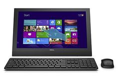 awesome Dell Inspiron 20 i3043-1252BLK All-in-One Computer - 19.5 inch HD Touchscreen, Intel Celeron N2830 2.16GHz, 4GB Memory, 500GB HDD, Black (Certified Refurbished)