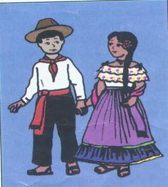 Costa Rica - Folk Costumes