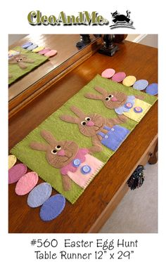 I like the wool pastel eggs...I think I will do them around a circle to make a candle mat.