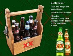 6 Bottle Holder w/ Bottle Opener - BrekX.com