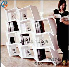 碧源科技  FRP GRG书架前台饰物架  玻璃钢产品、创意书架