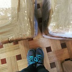 Movers came and took our stuff today. It's getting really real now!  #PNPAD #photoaday2015 #fromwhereistand