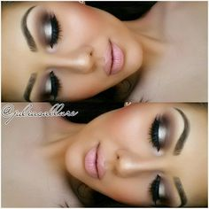 Smokey eye - beautiful and classic makeup look! This makeup is perfect for any special occasion and can be done using this affordable eyeshadow palette!