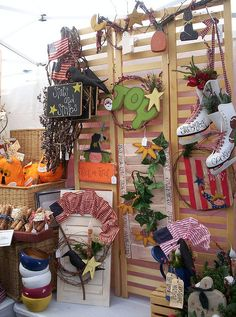 craft show booth