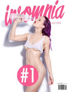 INSOMNIA Magazine #1 Na capa: Yana Protasova fotografada por Ana Dias