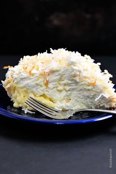 Coconut Cream Pie Recipe | This is by far the BEST Coconut Cream Pie I've ever tasted! Such a favorite!  from addapinch.com