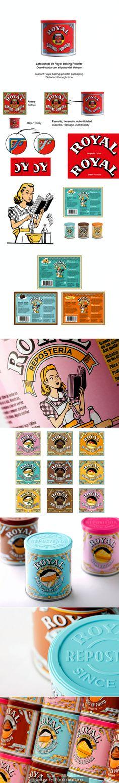 Rebrand da marca do fermento em pó Royal