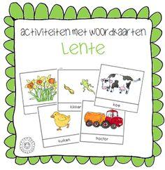 Activiteiten met woordkaarten | Thema LENTE