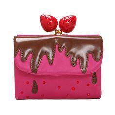 Monedero fresas y chocolate de Tsumori Chisato   Noticias   Todokawaii